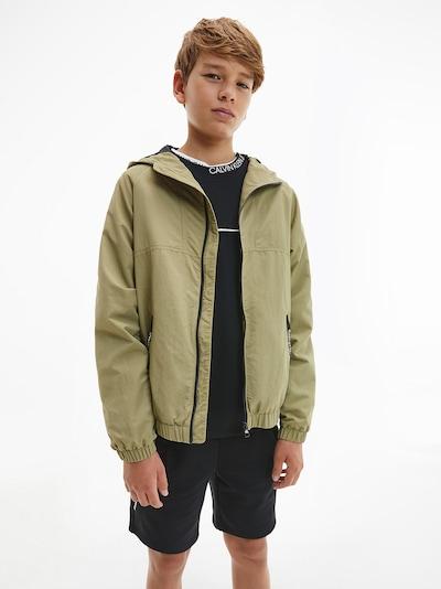 Calvin Klein Jeans Übergangsjacke in schilf: Frontalansicht
