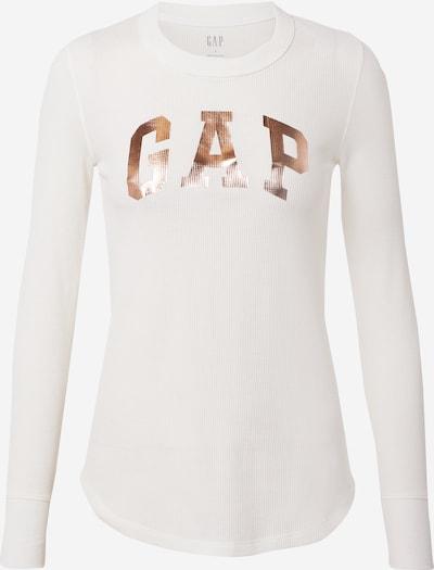 GAP Camiseta en oro rosa / blanco, Vista del producto