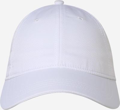Lacoste Sport Czapka sportowa 'TAFFETAS DIAMANTE' w kolorze białym, Podgląd produktu