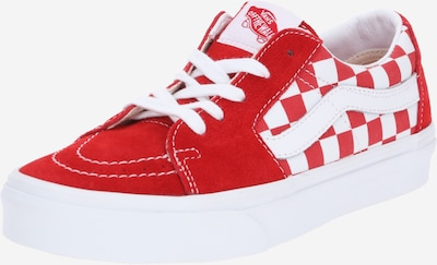 Sneaker bassa VANS di colore rosso acceso / bianco, Visualizzazione prodotti