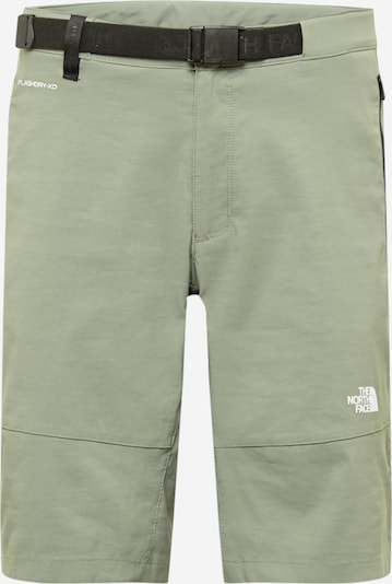 THE NORTH FACE Sporthose in khaki / weiß, Produktansicht