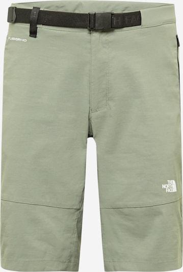 THE NORTH FACE Outdoorové nohavice - kaki / biela, Produkt