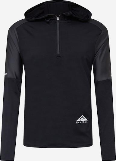NIKE Αθλητική μπλούζα φούτερ σε μαύρο / λευκό, Άποψη προϊόντος