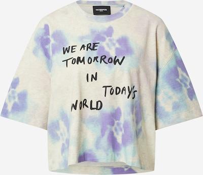 The Kooples Camiseta en beige moteado / azul claro / lila claro / negro, Vista del producto