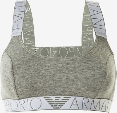 Emporio Armani Bustier in grau / graumeliert / weiß, Produktansicht