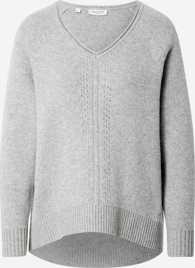 SELECTED FEMME Pullover in grau, Produktansicht