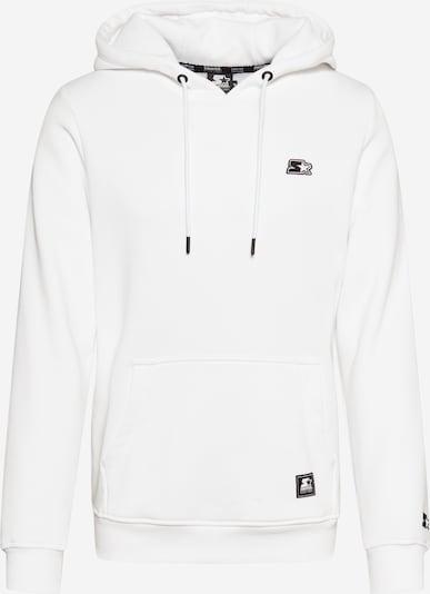 Starter Black Label Sweat-shirt en noir / blanc, Vue avec produit