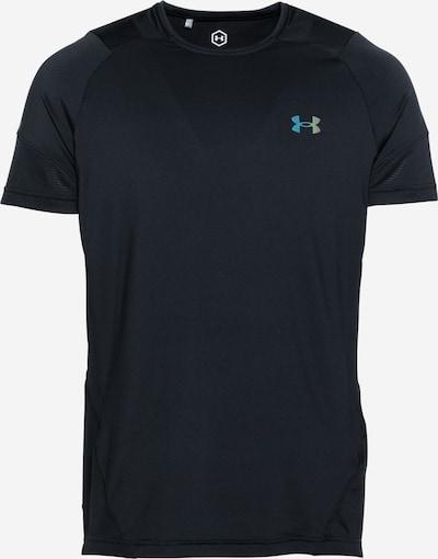 UNDER ARMOUR Funktionsshirt in neonblau / schwarz, Produktansicht