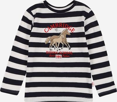 SALT AND PEPPER Camiseta en navy / marrón claro / rojo fuego / plata / blanco, Vista del producto