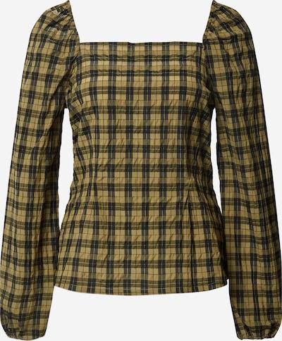 modström Shirt  'Truly' in khaki / schwarz, Produktansicht