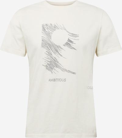 BLEND Shirt in grau / naturweiß, Produktansicht