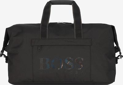 BOSS Casual Sac week-end en mélange de couleurs / noir, Vue avec produit