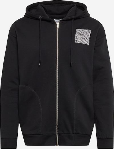 Only & Sons Bluza rozpinana 'KRISTIAN' w kolorze czarny / białym, Podgląd produktu