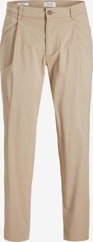 JACK & JONES Voltidega püksid 'Bill Rico', värv beež