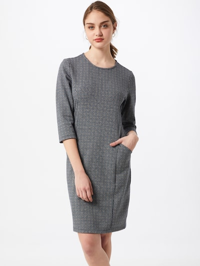 Cartoon Kleid in dunkelblau / grau / khaki, Modelansicht