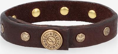 Campomaggi Armband Leder 22 cm in braun, Produktansicht