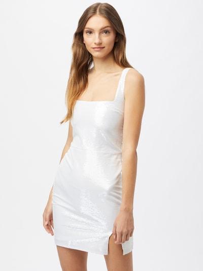 CLUB L LONDON Koktejlové šaty - bílá, Model/ka