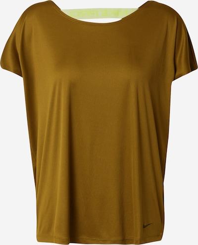 NIKE Sportshirt 'Dry Elastika' in oliv / neongrün, Produktansicht