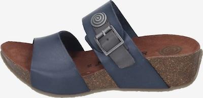 DR. BRINKMANN Pantoletten in blau, Produktansicht