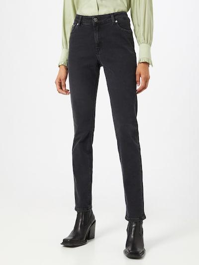 Jeans 'Swan' MUD Jeans pe negru denim, Vizualizare model