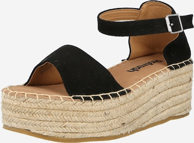 Refresh Sandales en noir, Vue avec produit