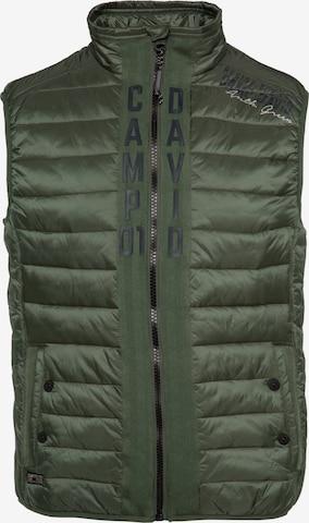 CAMP DAVID Vest in Green