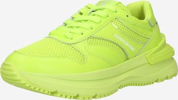 Sneaker low de la Calvin Klein Jeans pe verde