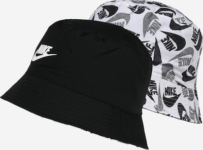 NIKE Sportovní čepice - šedá / černá / bílá, Produkt