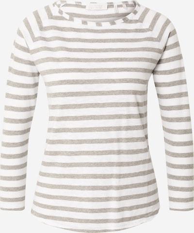 Rich & Royal Shirt in rauchgrau / weiß, Produktansicht