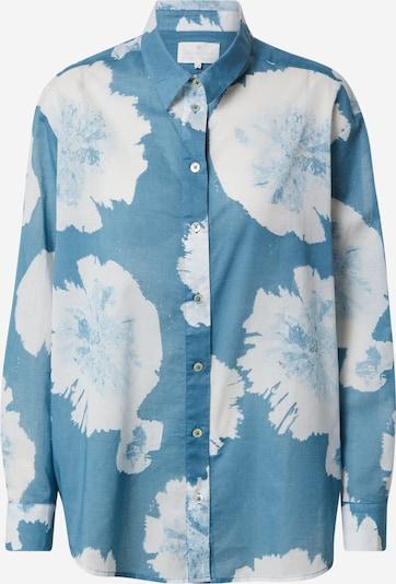 LIEBLINGSSTÜCK Bluse 'Finola' in himmelblau / weiß, Produktansicht