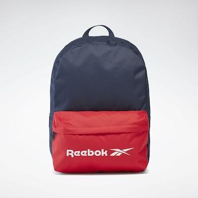 REEBOK Sportrugzak in de kleur Navy / Rood / Wit, Productweergave