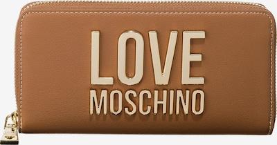 Love Moschino Geldbörse in braun, Produktansicht