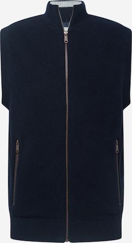 TOM TAILOR Vest in Blue