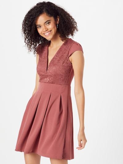 WAL G. Kleid 'VIMMY' in rostrot, Modelansicht