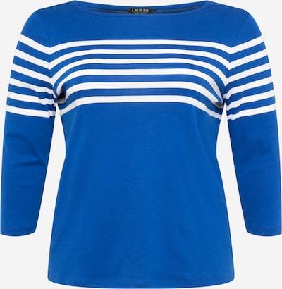 Lauren Ralph Lauren Shirt 'HALIAN' in de kleur Blauw / Wit, Productweergave