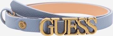 GUESS Gürtel 'Destiny' - Modrá