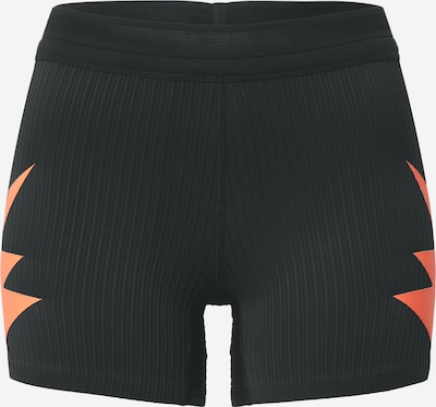 NIKE Pantalon de sport 'Berlin' en rouge orangé / noir / blanc, Vue avec produit