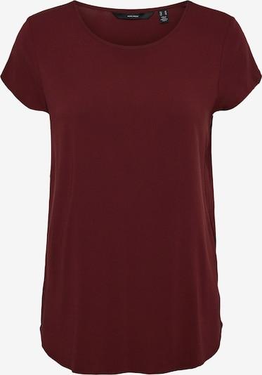 VERO MODA Shirt 'Becca' in de kleur Bloedrood, Productweergave