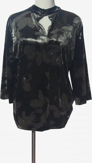 minus Langarm-Bluse in M in hellgrau / khaki / schwarz, Produktansicht