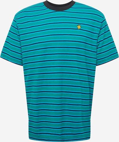 Afends Tričko 'Tyler' - námornícka modrá / tyrkysová / vodová, Produkt