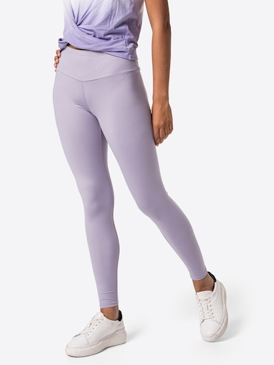 Hey Honey Workout Pants in Lilac, View model