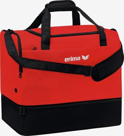 ERIMA Sporttasche in rot / schwarz / weiß, Produktansicht