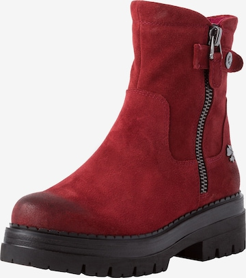 MARCO TOZZI by GUIDO MARIA KRETSCHMER Ankle Boots in Red