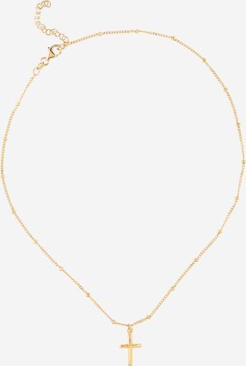 ELLI Verižica 'Kreuz' | zlata barva, Prikaz izdelka