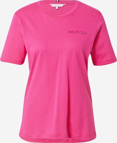 TOMMY HILFIGER T-Shirt in magenta, Produktansicht