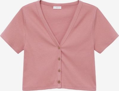 MANGO TEEN COLLECTION Strickjacke 'CAMISETA' in rosa, Produktansicht