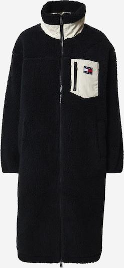 Tommy Jeans Overgangsfrakke i sort / hvid, Produktvisning
