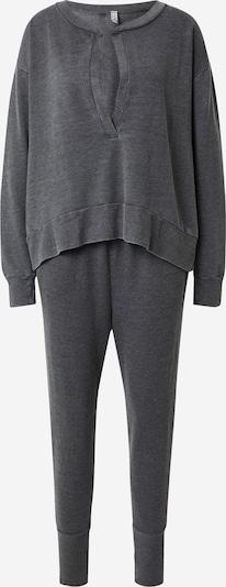 Pijama 'Cozy Cool Girl' Free People pe negru amestecat, Vizualizare produs