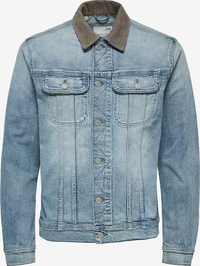 Demisezoninė striukė 'Jango' iš SELECTED HOMME , spalva - tamsiai (džinso) mėlyna / rusvai žalia, Prekių apžvalga