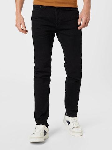 JACK & JONES Jeans 'Tim' in Schwarz